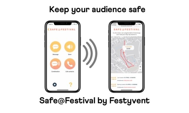 FESTYVENT LAUNCHES FESTIVAL SAFETY FEATURE